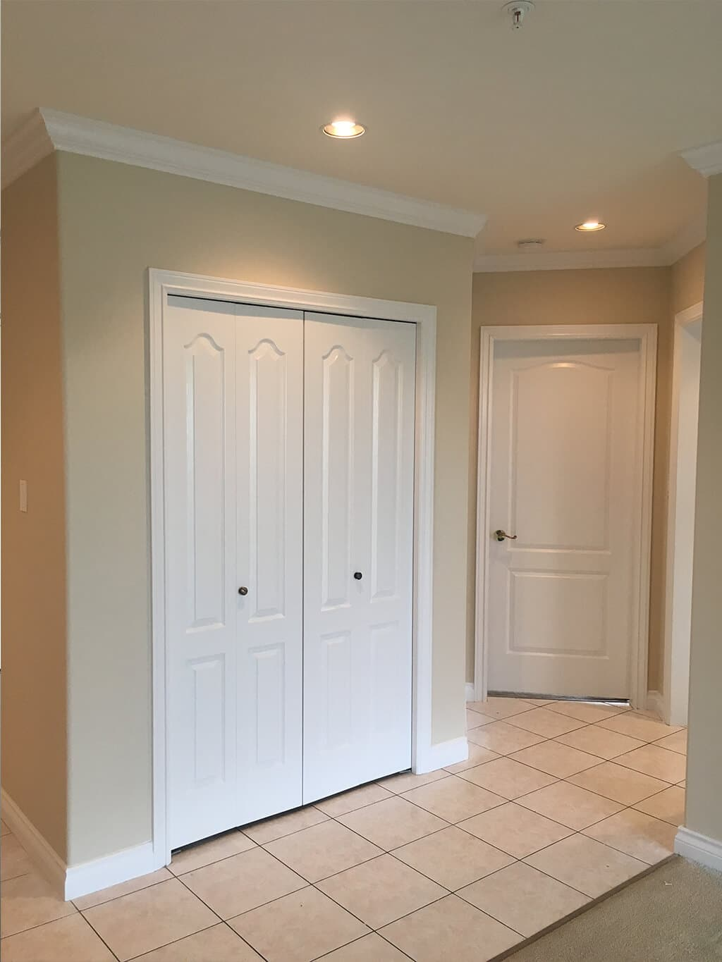 A hallway painted by Cypress Painting