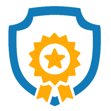 starred badge icon